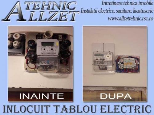 Inlocuit tablou electric apartament
